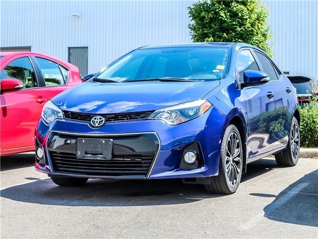 2016 Toyota Corolla  (Stk: D201574A) in Mississauga - Image 1 of 1