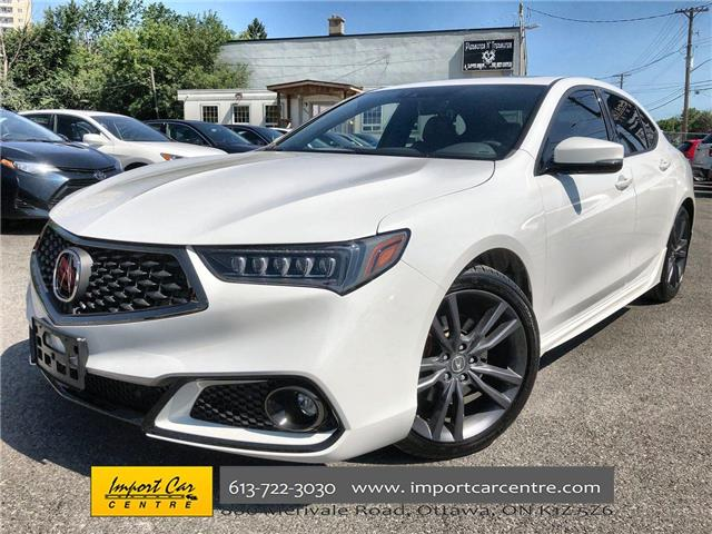 2019 Acura TLX Tech A-Spec (Stk: 800876) in Ottawa - Image 1 of 26