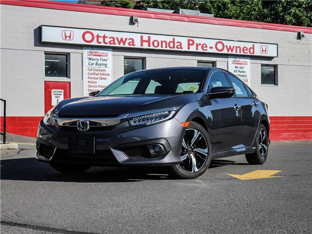 2018 Honda Civic Touring (Stk: H83590) in Ottawa - Image 1 of 29