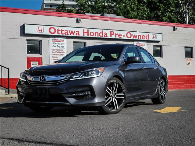 2016 Honda Accord Sport (Stk: H83580) in Ottawa - Image 1 of 29