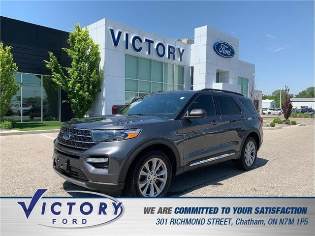 2020 Ford Explorer XLT (Stk: V19496A) in Chatham - Image 1 of 22