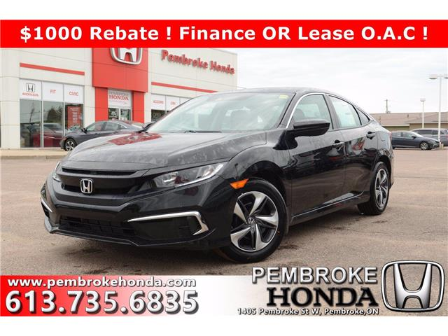 2020 Honda Civic LX (Stk: 20177) in Pembroke - Image 1 of 22