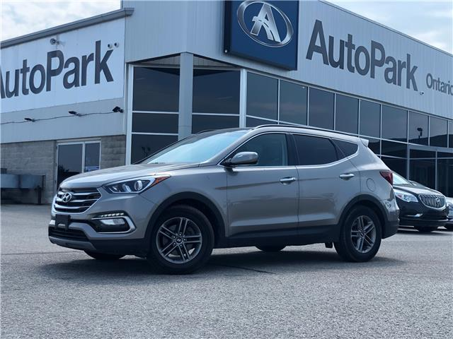 2018 Hyundai Santa Fe Sport 2.4 Luxury (Stk: 18-90626RJB) in Barrie - Image 1 of 30