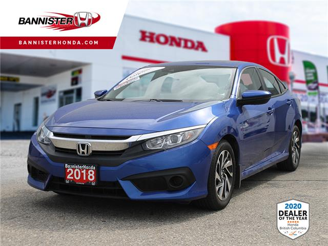 2018 Honda Civic EX (Stk: L20-054) in Vernon - Image 1 of 14