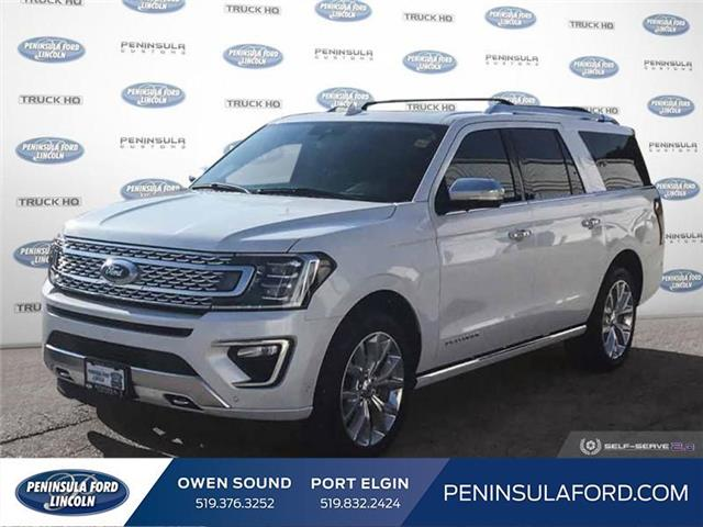 2019 Ford Expedition Max Platinum (Stk: 2057) in Owen Sound - Image 1 of 30