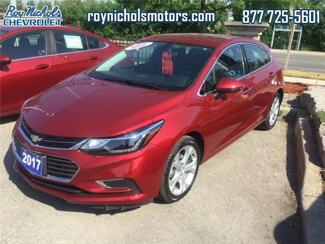 2017 Chevrolet Cruze Hatch Premier Auto (Stk: P6555) in Courtice - Image 1 of 12