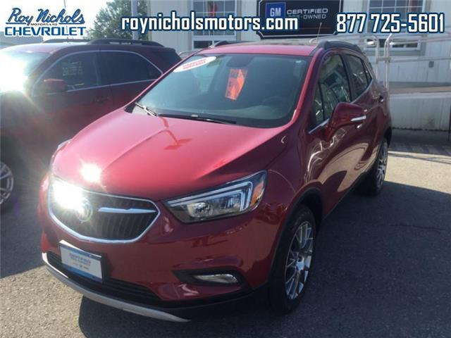 2018 Buick Encore Sport Touring (Stk: P6550) in Courtice - Image 1 of 14