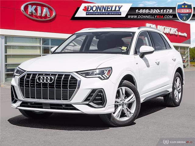2020 Audi Q3 45 Progressiv (Stk: KUR2374) in Ottawa - Image 1 of 27