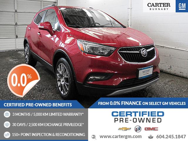 2017 Buick Encore Sport Touring (Stk: E0-08431) in Burnaby - Image 1 of 23