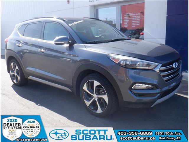 2017 Hyundai Tucson Limited (Stk: 17421U) in Red Deer - Image 1 of 23
