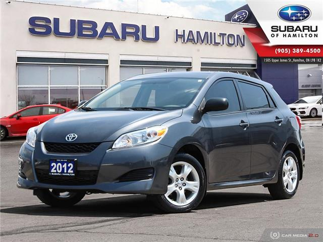 2012 Toyota Matrix Base (Stk: S8366A) in Hamilton - Image 1 of 24