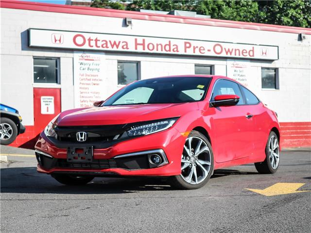 2019 Honda Civic Touring (Stk: H83510) in Ottawa - Image 1 of 28