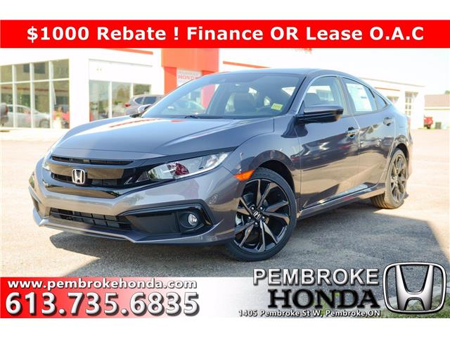 2020 Honda Civic Sport (Stk: 20179) in Pembroke - Image 1 of 26