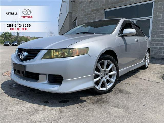 2004 Acura TSX LEATHER, SUNROOF, ALLOY WHEELS, SPOILER, POWER HEA (Stk: 43726A) in Brampton - Image 1 of 22