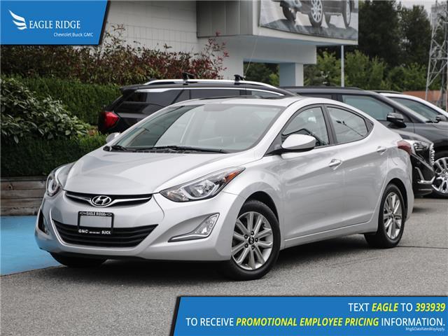 2016 Hyundai Elantra GL (Stk: 165801) in Coquitlam - Image 1 of 15