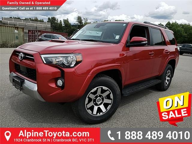 2020 Toyota 4Runner Base (Stk: X879926A) in Cranbrook - Image 1 of 26