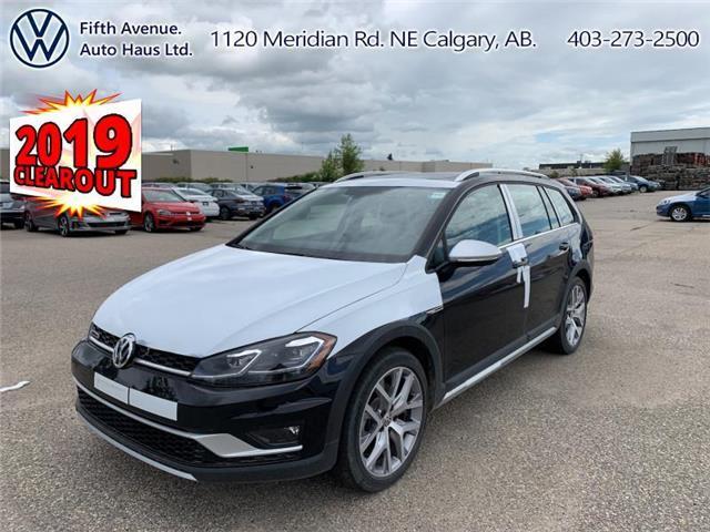 2019 Volkswagen Golf Alltrack 1.8 TSI Execline (Stk: 19685) in Calgary - Image 1 of 29