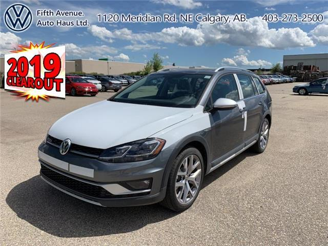 2019 Volkswagen Golf Alltrack 1.8 TSI Execline (Stk: 19704) in Calgary - Image 1 of 29