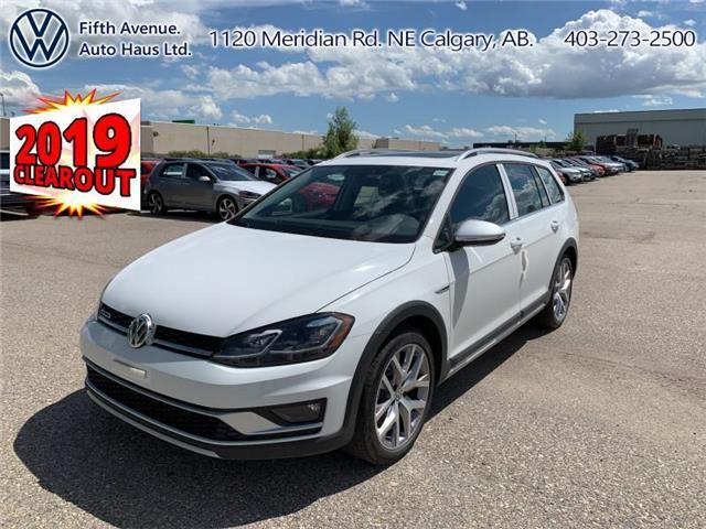 2019 Volkswagen Golf Alltrack 1.8 TSI Execline (Stk: 19700) in Calgary - Image 1 of 29