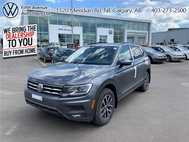 2020 Volkswagen Tiguan Comfortline (Stk: 20100) in Calgary - Image 1 of 28