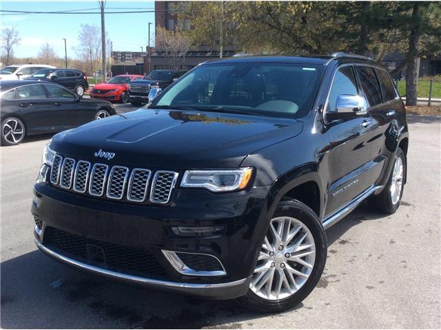 2018 Jeep Grand Cherokee Summit (Stk: U3480) in Ottawa - Image 1 of 17