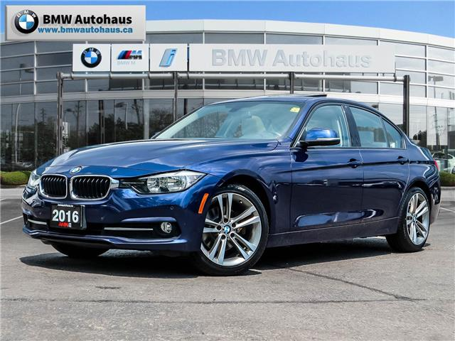 2016 BMW 320i xDrive (Stk: P9496) in Thornhill - Image 1 of 28