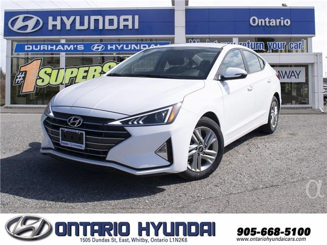 2020 Hyundai Elantra Preferred w/Sun & Safety Package (Stk: 089971) in Whitby - Image 1 of 17