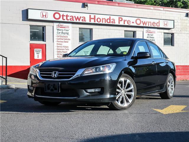 2015 Honda Accord Sport (Stk: H83790) in Ottawa - Image 1 of 28