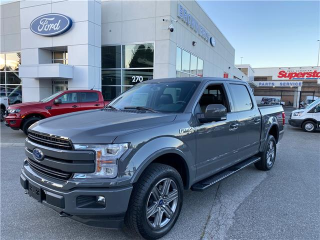 2020 Ford F-150 Lariat 1FTEW1E52LFB49302 OP20187 in Vancouver