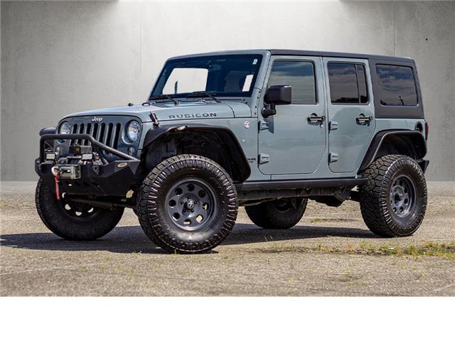 2015 Jeep Wrangler Unlimited Rubicon (Stk: 208-9440A) in Chilliwack - Image 1 of 17