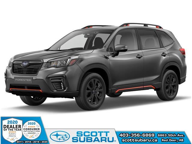2020 Subaru Forester Sport (Stk: 557422) in Red Deer - Image 1 of 10