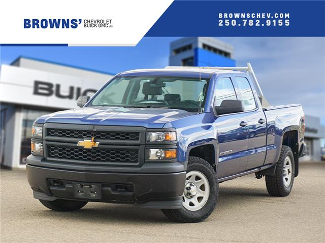 2015 Chevrolet Silverado 1500 WT (Stk: 4491A) in Dawson Creek - Image 1 of 15