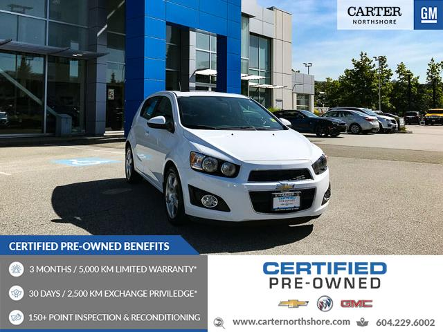2015 Chevrolet Sonic LT Auto (Stk: 974000) in North Vancouver - Image 1 of 27