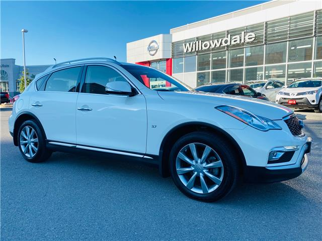 2017 Infiniti QX50 Base (Stk: H8969A) in Thornhill - Image 1 of 17