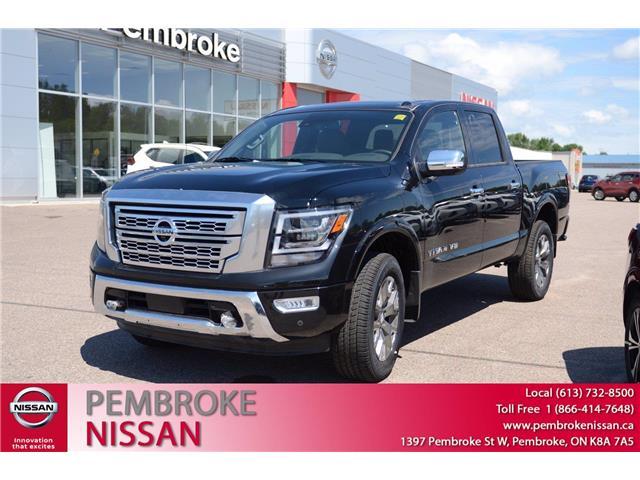 2020 Nissan Titan Platinum Reserve (Stk: 20131) in Pembroke - Image 1 of 28