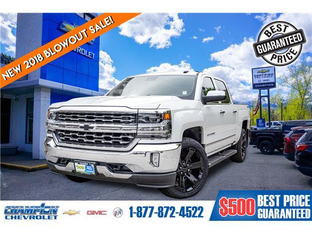 2018 Chevrolet Silverado 1500 2LZ (Stk: 18-397) in Trail - Image 1 of 25