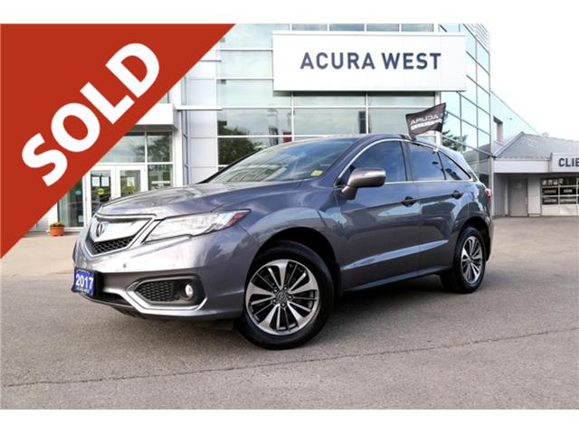 2017 Acura RDX Elite Pkg 7 year 160,000km Acura Warranty (Stk: 7251A) in London - Image 1 of 1