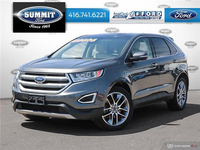 2016 Ford Edge Titanium (Stk: PL21678) in Toronto - Image 1 of 25