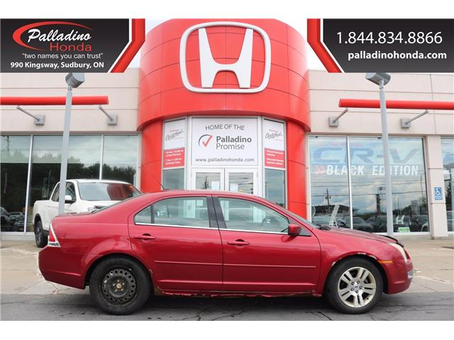 2007 Ford Fusion SEL (Stk: 22275W) in Greater Sudbury - Image 1 of 19