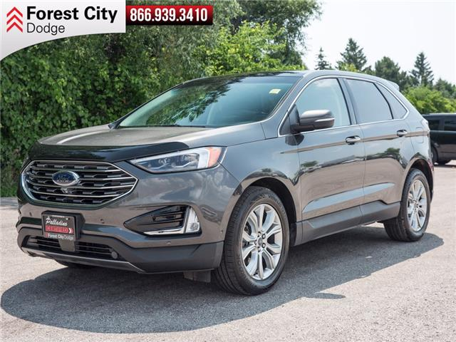 2020 Ford Edge Titanium (Stk: DW0096) in London - Image 1 of 20