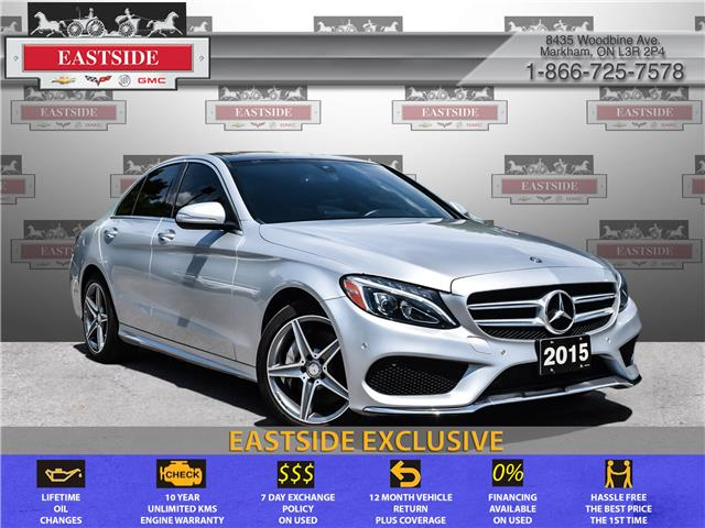 2015 Mercedes-Benz C-Class Base (Stk: 054915B) in Markham - Image 1 of 30