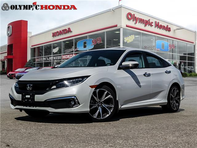 2019 Honda Civic Touring (Stk: V9172A) in Guelph - Image 1 of 23
