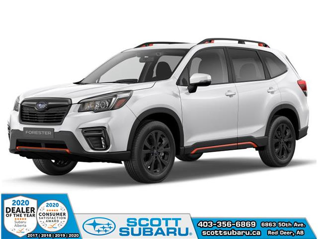 2020 Subaru Forester Sport (Stk: 559457) in Red Deer - Image 1 of 10