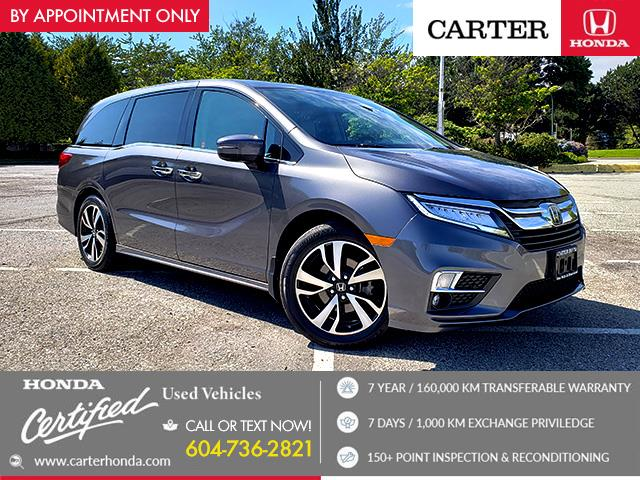 2019 Honda Odyssey Touring (Stk: 1L60521) in Vancouver - Image 1 of 31