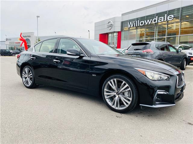 2019 Infiniti Q50 3.0T Sport (Stk: C35552) in Thornhill - Image 1 of 10