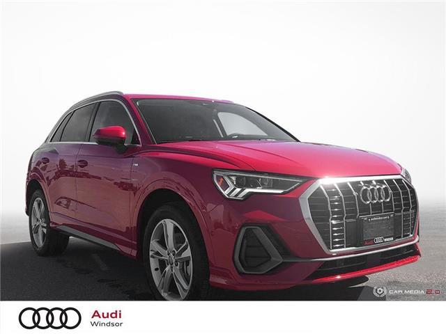 2020 Audi Q3 45 Progressiv (Stk: 9960) in Windsor - Image 1 of 30