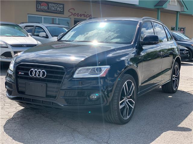2017 Audi SQ5 3.0T Dynamic Edition (Stk: ) in Bolton - Image 1 of 21