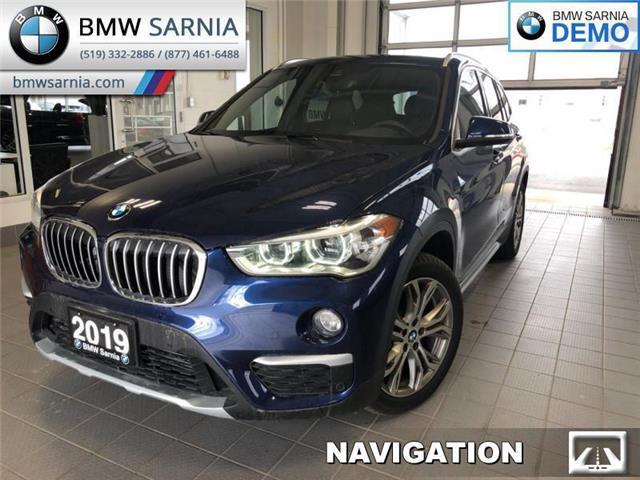 2019 BMW X1 xDrive28i (Stk: BF1915) in Sarnia - Image 1 of 16