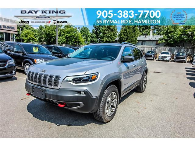 2020 Jeep Cherokee Trailhawk (Stk: 7087) in Hamilton - Image 1 of 26