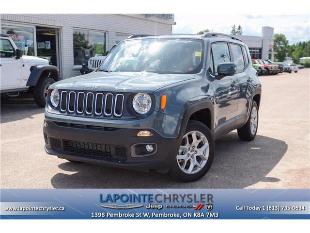 2018 Jeep Renegade North (Stk: 19632) in Pembroke - Image 1 of 30